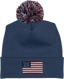 america stocking cap